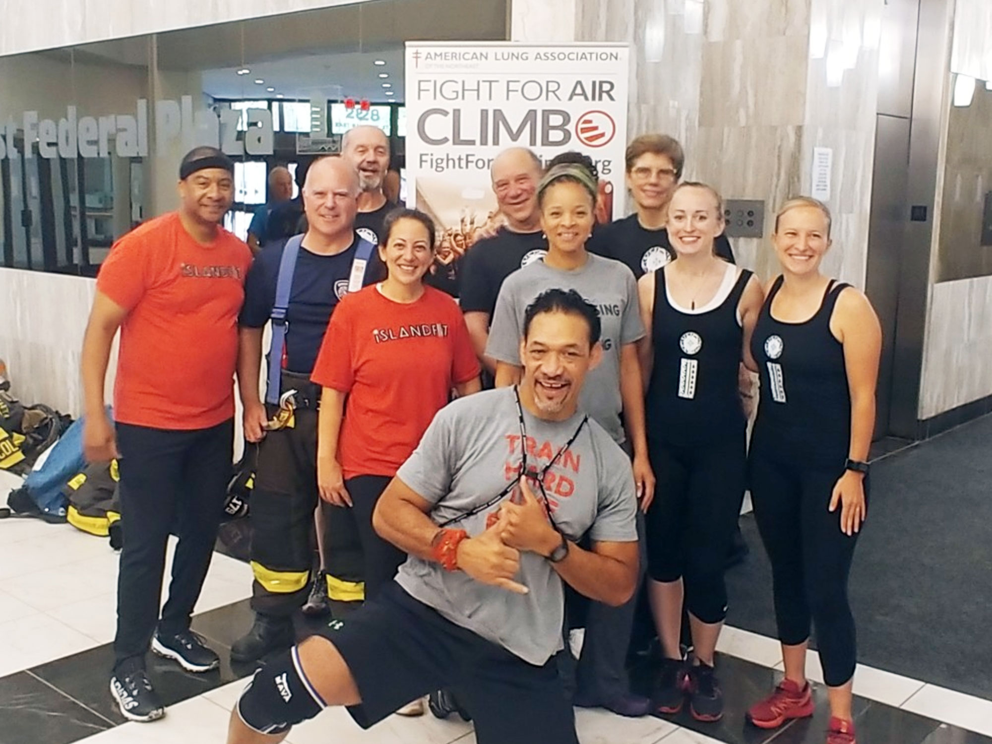 Fight for Air Climb Rochester
